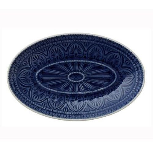Oval Dish - Ocean Blue - Large
