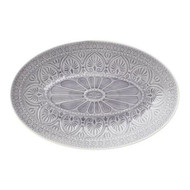 Oval Dish - Light Grey - Large