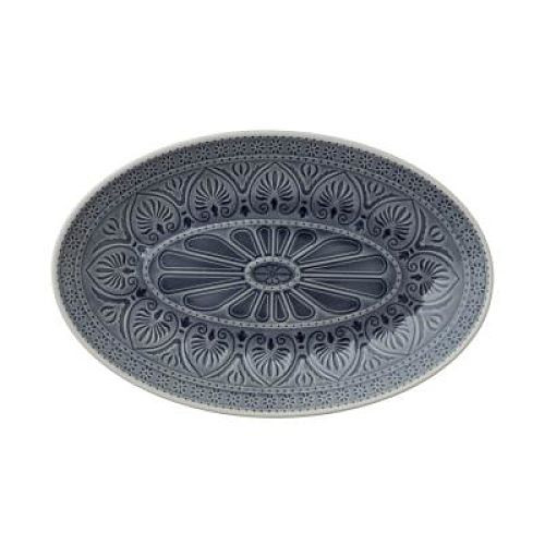Oval Dish - Dark Grey - Medium