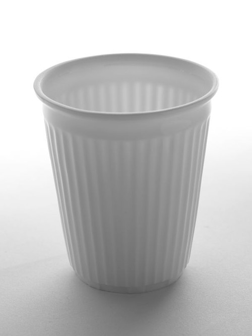 Coffee Cup - Creased - Porcelain from Serax in Belgium