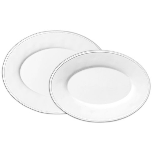 Serving Platter - Constance - White - Large from Côté Table