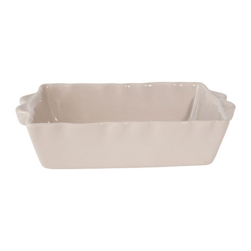 French Baking Dish - Light Grey - Medium from Côté Table in France