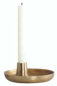 Brass Candlestick Holder from House Doctor