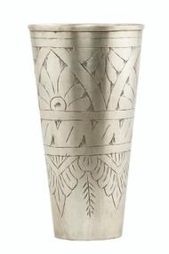Tall Silver Vase - Lassi