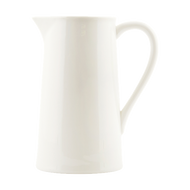 Ceramic Pitcher - White - Small