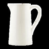 Ceramic Pitcher - White - Small