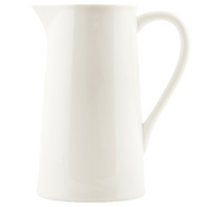 Large white ceramic pitcher from House Doctor