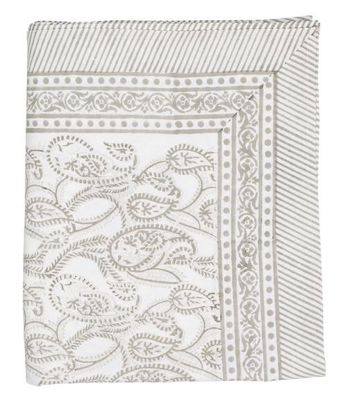 Tablecloth Amrita grey from Danish designer Chamois