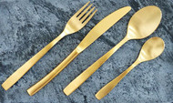Flatware – Gold Plated – 24 Piece Set
