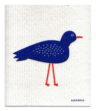 Swedish Dishcloth - Bird - Blue