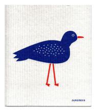 Swedish Dishcloth - Bird - Blue