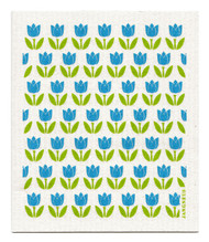 Swedish Dishcloth - Tulip Small - Turquoise