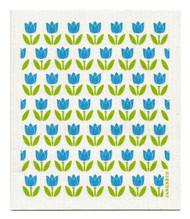 Swedish Dishcloth - Tulip Small - Turquoise