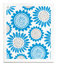 Swedish Dishcloth - Sunflower - Turquoise
