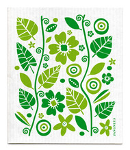 Swedish Dishcloth - Garden - Green