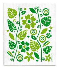 Swedish Dishcloth - Garden - Green