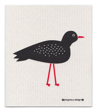 Swedish Dishcloth - Bird - Black