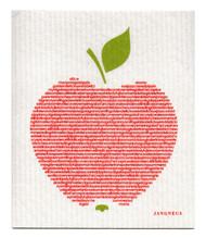 Swedish Dishcloth - Big Apple - Red