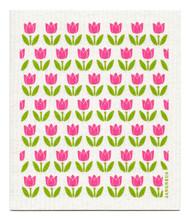 Swedish Dishcloth - Tulip Small - Pink