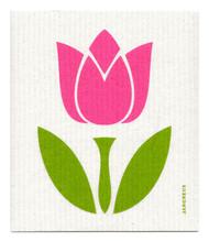 Swedish Dishcloth - Tulip Large - Pink