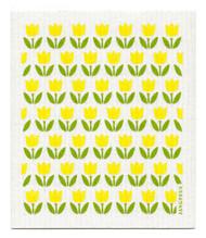 Swedish Dishcloth - Tulip Small - Yellow