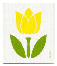 Swedish Dishcloth - Tulip Large - Yellow