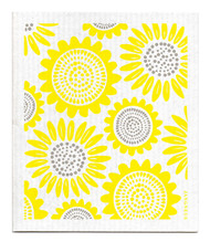 Swedish Dishcloth - Sunflower - Yellow