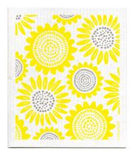 Swedish Dishcloth - Sunflower - Yellow