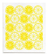 Swedish Dishcloth - Citrus - Yellow