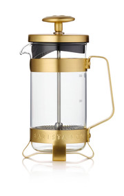 French Press Coffee Pot - Midnight Gold - Small