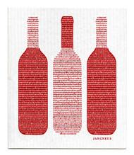 Swedish Dishcloth - Wine - Red