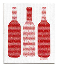 Swedish Dishcloth - Wine - Burgundy