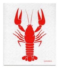 Swedish Dishcloth - Crayfish - Red