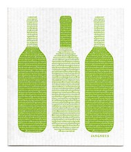 Swedish Dishcloth - Wine - Green