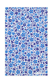 Swedish Kitchen Towels - Garden - Blue