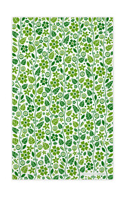 Swedish Kitchen Towels - Garden - Green