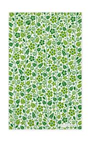 Swedish Kitchen Towels - Garden - Green