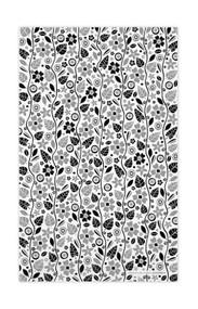Swedish Kitchen Towels - Garden - Black