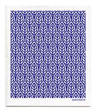 Swedish Dishcloth - New Leaves - Blue