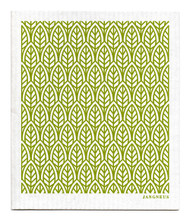Swedish Dishcloth - New Leaves - Green