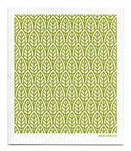 Swedish Dishcloth - New Leaves - Green