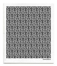 Swedish Dishcloth - New Leaves - Black