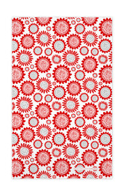 Swedish Kitchen Towels - Sunflower - Red