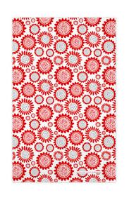 Swedish Kitchen Towels - Sunflower - Red