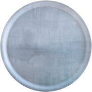 Decorative round tray from Ary Home Sweden. Serenity Blue. Free US shipping from Esthetic Living.