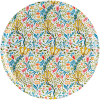 Decorative round tray from Ary Home Sweden. Flora.