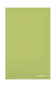 Swedish Kitchen Towels - Leaves - Green