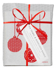 Bundle - Leaves Grey -  with Christmas Decoration