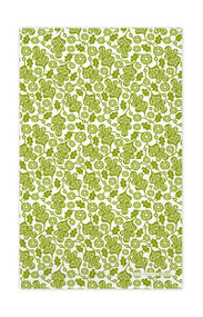 Jangneus kitchen towel oak leaf green