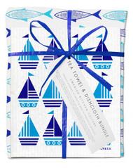 Bundle - Blue fish/Turquoise Boat